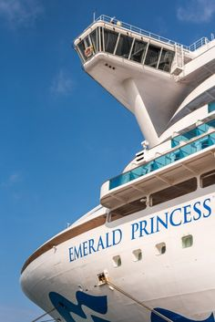 Emerald Princess - Crazy Cruises by Daniela Pisano Alaskan Cruise, Love Boat, Princess Cruises, The Good Place, Emerald, Cruise Ships, Amazing Places, Vacation Ideas, Vacations