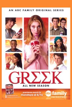 Greek - sort of one of those mindless, yet enthralling YA soap opera shows... easy to get into and pick up where you left off