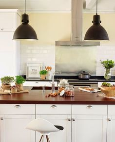 Cozinha com Puxador de Concha | Click Interiores