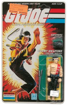 Quick Kick (v1) G.I. Joe Action Figure - YoJoe Archive