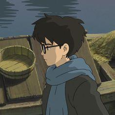 Anime Kunst, Anime Art, Manga Anime, Studio Ghibli Art, Studio Ghibli Movies, Cute Gifs, Personajes Studio Ghibli, Le Vent Se Leve, Wind Rises