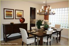 Dining Room - #Home Staging - www.forgiehomestaging.com