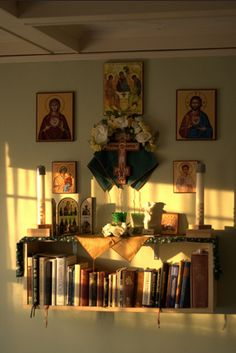 Catholic Home Altar On A Shelf Home Altar Ideas