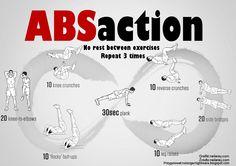 Mój autorski plan ćwiczeń na mięśnie brzucha. #gym