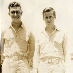 Jay De L'Eau and Eugene Sledge.