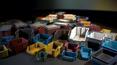 A collection of realistic Plastic Crates aimed to fill in-game environments. Physically Based Rendering, Plastic Crates, Game Environment, Unreal Engine, Gas Station, Cl, Storage, House, Purse Storage
