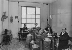 Laboratorio paglieria - 1957