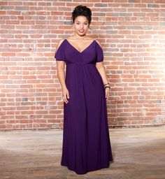perfect plus size gown