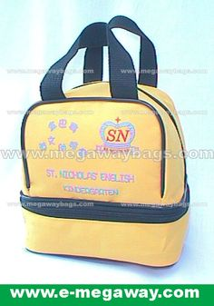 School Lunch Bag  Pls contact #MegawayBags at megaway@pacific.net.hk for details.
