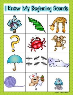 Freebie: Beginning sounds with magnetic letters! and much more!
