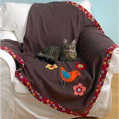 Cat & Dog Throws Sewing ePattern