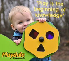 Play is the beginning of knowledge