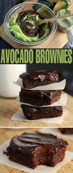 Diet Snacks These Fudgy Avocado Brownies with Avocado Frosting are an incredible gluten-free healthier brownie for when you want the dessert without all the sin. (Paleo and Vegetarian friendly too!) - These Fudgy Avocado Brownies with Avocado Frosting are an incredible gluten-free healthier brownie for when you want all the flavour without all the sin.