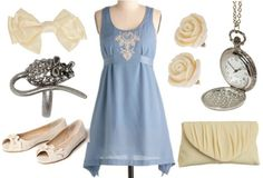 A cute simple dress it's adorable for every occasion and it looks comfy too!