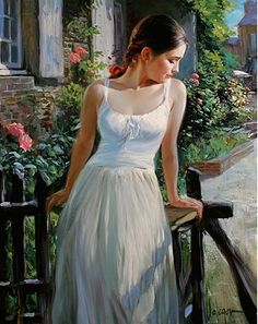 🧑Artist Vladimir Volegov 👉Portraits of very beautiful women Oil on canvas Painting Of Girl, Artist Painting, Figure Painting, Fence Painting, Female Portrait, Female Art, Vladimir Volegov, Russian Art, Beautiful Paintings