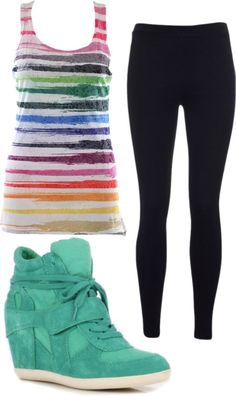 """Hip Hop Outfit Based On Monster High Dance Class"" by bigappler ❤ liked on Polyvore"