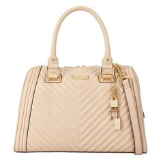 Haodda tote by ALDO. This chevron quilted top-handle really lays on the charm. Classic, posh and demure all at once, it captures the Frenc...