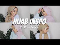 HIJAB STYLES FT. NISWA FASHION | Hijab Tutorial | MishaArtistry - YouTube Hijab Tutorial, Hijab Styles, Beautiful Hijab, Scrunchies, Hijab Fashion, Thankful, Youtube, Beauty, Beauty Illustration