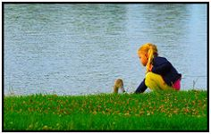 Young Friends - Girl and Swan -  Pixelfaxe/Flickr Swan, Photo And Video, World, Friends, Nice Asses, The World, Amigos, Swans, Boyfriends