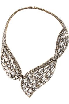 Erickson Beamon | Hello Sweetie gold-plated Swarovski crystal necklace | NET-A-PORTER.COM