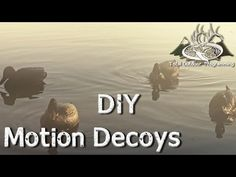 A look at different waterfowl blinds available to duck and goose do it yourself motion duck decoy jerkline for waterfowl hunting youtube solutioingenieria Images