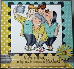 Picture Perfect Set (Sku#4130) Art Impressions Girlfriends card