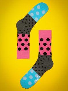 Happy Socks Dots Slip http://prettify.ch/happy-socks-dots-split-socken-mit-punkten-002 #women #socks #fashion