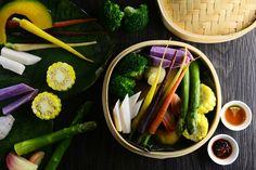 Steam Vegetable dish
