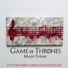 Game of Thrones Inspired Main Theme Song by AndreaHathcockArt