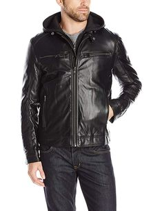 more photos f20cc e2e39 London Men s Lamb Touch Moto Hipster with Inner Hood Review Nahka Ja  Miehet, Lontoo,