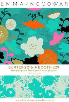 print & pattern: SURTEX 2016 - emma mcgowan