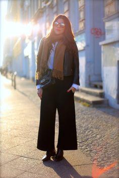 JOURlook: Wie trägt man Culottes im Winter? - Journelles
