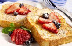 Pain perdu léger Weight Watchers, recette d'un bon pain perdu sans matière grasse, très facile à faire et parfait pour le petit-déjeuner.