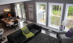 Next image >> Windows, In This Moment, Family Rooms, Contemporary, Home, Image, Style, Swag, Family Room
