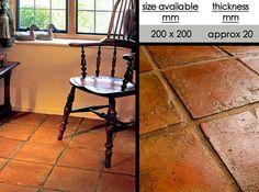 UK Suppliers of Terracotta Flooring and Quarry Floor Tiles