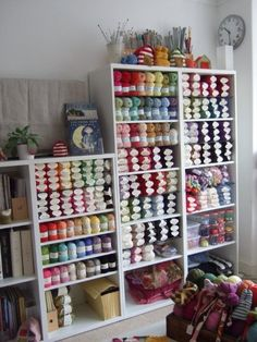Knitting Wool Shops : ... Knitting - Organization on Pinterest Yarn storage, Yarns and Yarn