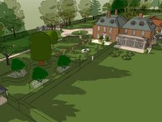 Designs | Projects | Richard Miers - Garden Design Designs To Draw, Design Projects, Garden Design, Golf Courses, Country, Drawings, Rural Area, Sketches, Landscape Designs