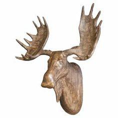 Mirielle Moose Head Decor