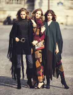 Vogue Spain September 2015 Photographer: David Bellemere Fashion Editor: Marina Gallo