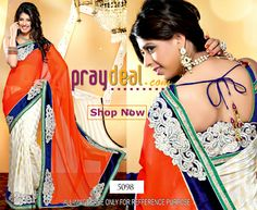 Upto 70% off on Bollywood Sarees