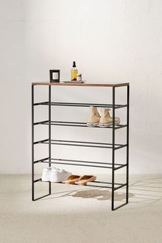 Slide View 1 Yamazaki Tower 6 Tier Shoe Rack Diy Shoe Rack 6