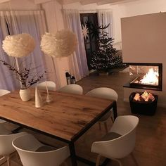 Ruokailutila The post Ruokailutila appeared first on Wohnungeinrichten. Dining area The post Dining area appeared first on Wohnungeinrichten. Dining Room Design, Interior Design Living Room, Dining Area, Living Room Decor, Home And Living, Room Inspiration, Sweet Home, House Design, Home Decor