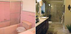 bathroom-remodel-before-after - 55  Bathroom Remodel Ideas  <3 <3