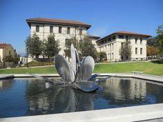 Campus sculpture - Occidental College