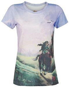 Zelda T-Shirt (Damen) -L- Ocarina of Time
