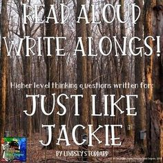 Just Like Jackie Read Aloud Write Along by Tales From the Third Degree This Is A Book, The Book, Book Club Books, Good Books, Amazing Books, Frindle, Ela Classroom, Classroom Ideas, Car For Teens