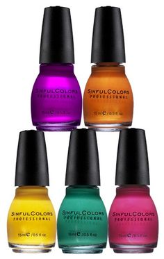 Update your nail polish collection with new shades from SinfulColors. In-store only at Shopko!