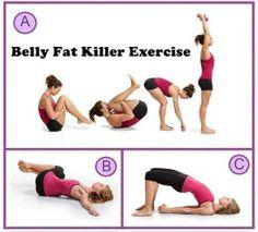 #BellyFatKillerExercise