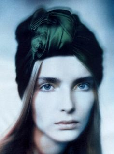 """""""Pictorial Clicks"""" - Snejana Onopka photographed by Paolo Roversi for Vogue Italia, 2007."""