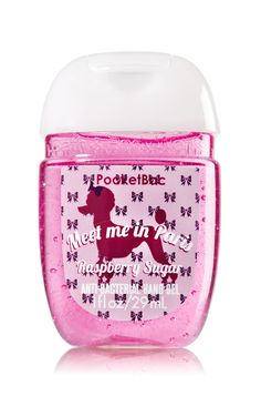 "Bath & Body Works ""Meet me in Paris"" French Poodle Pocketbac - Raspberrry Sugar scented Bath & Body Works Oval Antibacterial Hand Sanitizer Gel Bath N Body Works, Body Wash, Bath And Body, Perfume, Scented Hand Sanitizer, Bath Gel, Body Spray, Smell Good, Shower Gel"